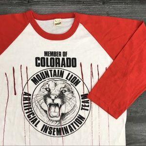1980s Mountain Lion Screen Stars T-shirt